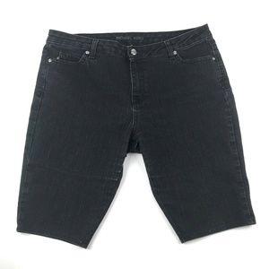 Michael Kors Denim Bermuda Shorts